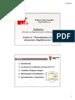 Archivo 4 - Termodinámica de La Detonación. Simplificaciones