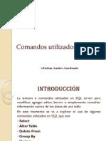 Comandosutilizadosensql 111130135056 Phpapp01(1)