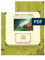Magic Forest Academy-Nature Journal Prompts