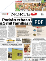 Periódico Norte edición del día 14 de julio de 2014