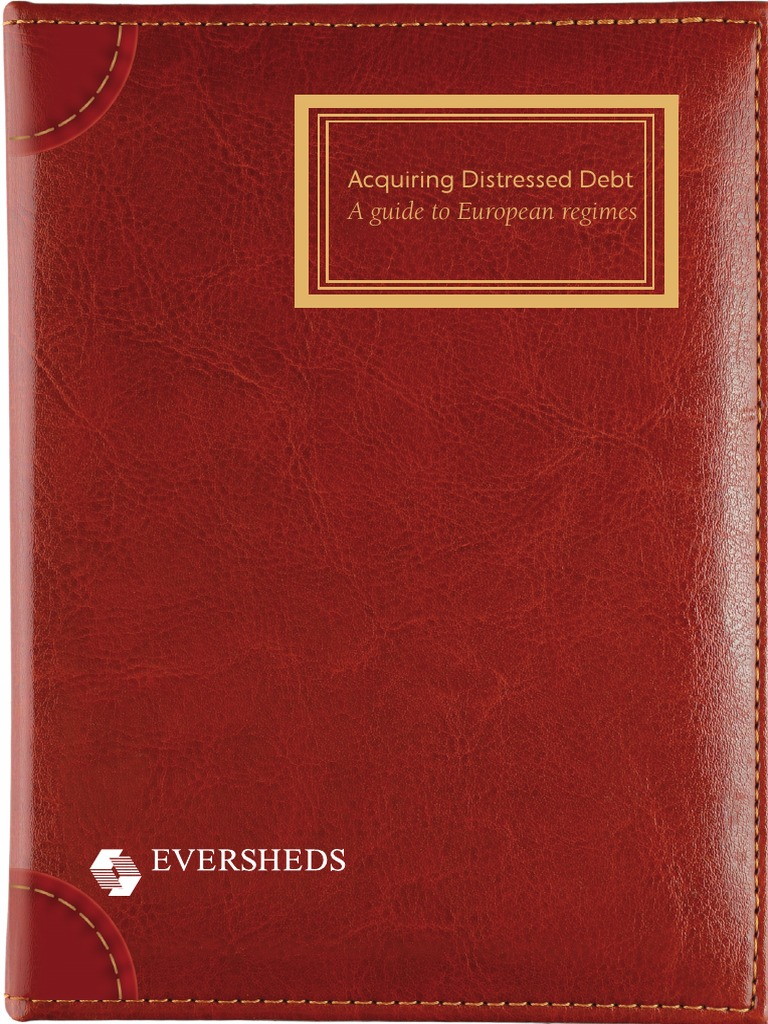 How to value distressed debt the practical guide to distressed.