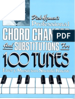 Dick Hyman 100 Tunes Chord Substitutions