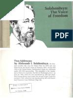 Solzhenitsyn - The Voice of Freedom [1975]