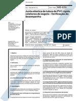 nbr 7369 - mb 839 - junta elastica de tubos de pvc rigido coletores de esgoto - verificacao de de.pdf
