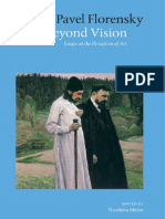 Beyond Vision [Essays on the Perception of Art] by Pavel Florensky [2003] R