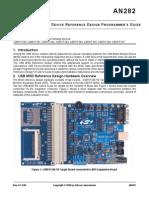 USB MSD Reference Design Programmer's Guide