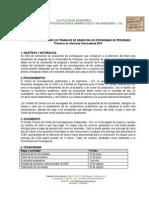 Terminos de Referencia Convocatoria Trabajos de Grado 2014