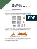 Estructura de Los Filosilicatos de La Arcilla