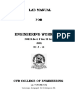 Engineering Workshop-i Lab Manual
