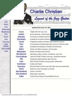 (eBook) Charlie Christian - Legend of the Jaz Guitar