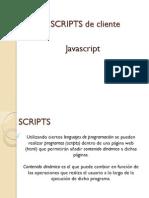 Scripts y javascript básico