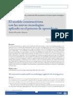 El Modelo Constructivista Con Las Nuevas Tecnologias.