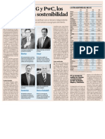 Deloitte, KPMG y PwC, los auditores de la sostenibilidad