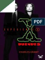 [Expediente X 01] Grant, Charles - Duendes [9715] (r1.0 Etriol).epub
