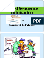 Rapid Sequence Intubation report
