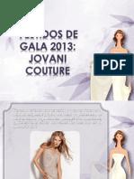 Vestidos de Gala 2013 Jovani Couture