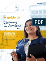 Ifoa Go Guide Becoming Actuary 2013 2014