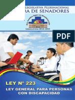 Ley General Para Personas Con Discapacidad