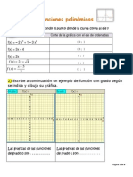 Ejercitación Función Polinómica - (Con Soluciones)