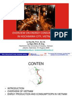 Overview on Energy Consumption in Hochi Minh City-Vietnam-2009
