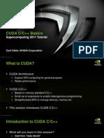 Sc11 Cuda c Basics