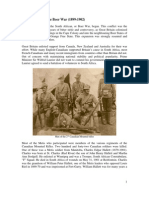 Metis Soldiers in the Boer War (1899-1902)