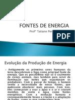 FONTES DE ENERGIA 3° geografia