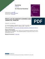 Proclus on Hesiod