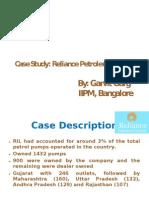 Case Study Ril Petrol