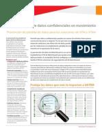 XTM DLP Prevención de Pérdida de Datos Para Las Soluciones