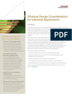 Wireless Design Considerations in (IACS)