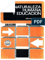 Naturaleza Humana y Educación