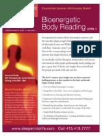 Bio-Energetic Body Reading