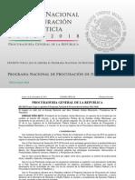 Programa Nacional de Procuración de Justicia 2013-2018