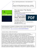 The Ultrafiltration of Wool-scouring Effluents