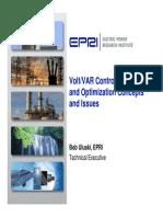 EPRI VoltVAR Control