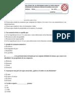 Examen Extraordinario Ciencias Quimica 2014