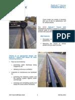 GTD Trench Infill Data Sheet