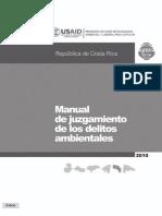 Manual de Juzgamiento de Los Delitos Ambientales