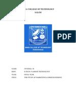 Internship Project Report of merchandising