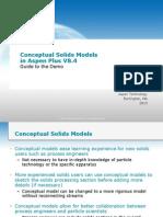 Conceptual Demo Guide