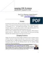 Manageing HR Systems