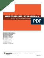 MicroTurbinas America Latina.  MicroTurbines Latin America. renso.piovesan@eeicorp.us