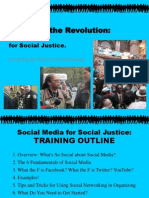 Social Media for Social Justice