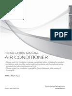 LG 2011 Flex-multi Series Install Manual