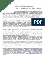 Tratados Internacionales de Propiedad Intelectual