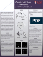 ECSE 499 - Medical Applications of Augmented Reality Glasses (Google Glass) - Poster
