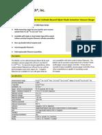 BA602 Hot Cathode Bayard-Alpert Glass Ionization Vacuum Gauge