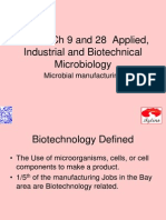 Applied and Industril Microbiology