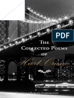 Hart Crane the Collected Poems of Hart Crane Black & Gold Edition 1946